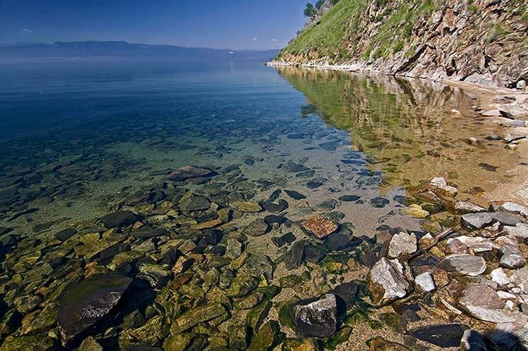 чистая вода Байкала