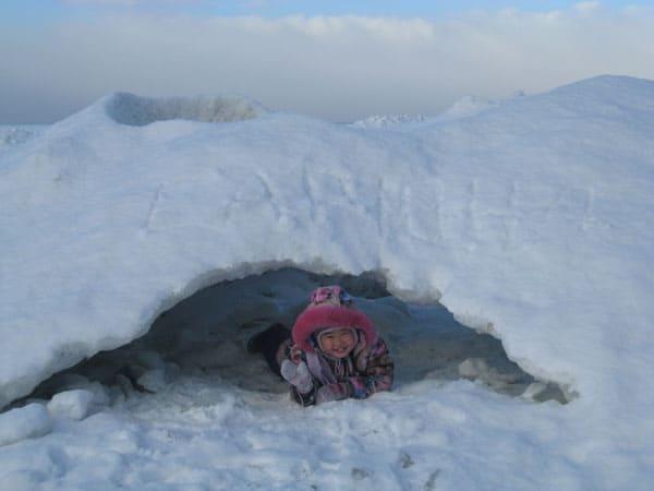 ледяные купола Байкала