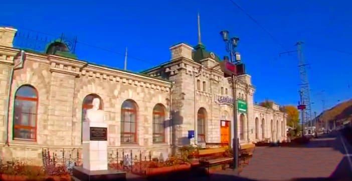 вокзал в Слюдянке