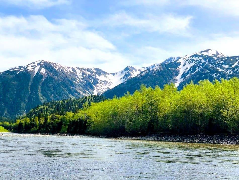 река Снежная