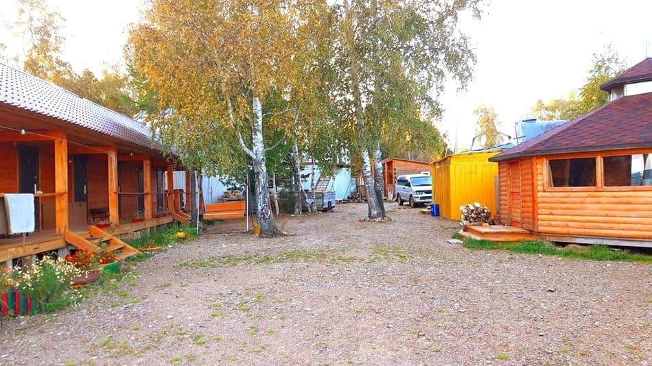 база отдыха в Байкальском Прибое