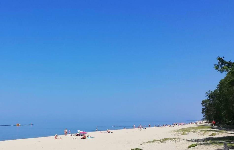 пляж в с. Энхалук