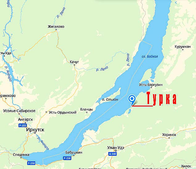 с. Турка на карте