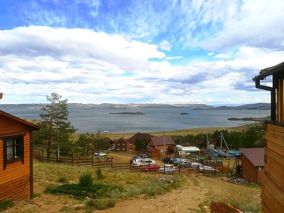 базы отдыха на Байкале в Сарме - Малое море